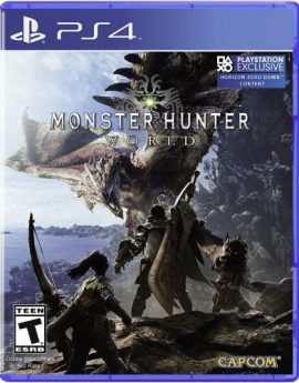 PS4 Game Monster Hunter: World