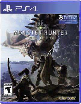 PS4 Game Monster Hunter: World