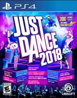 PS4 Game Just Dance 2018