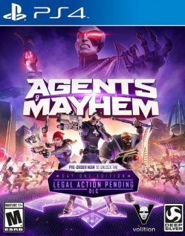 PS4 Game Agents of Mayhem