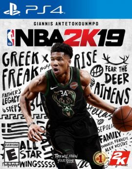 PS4 NBA 2K19 Standard Edition