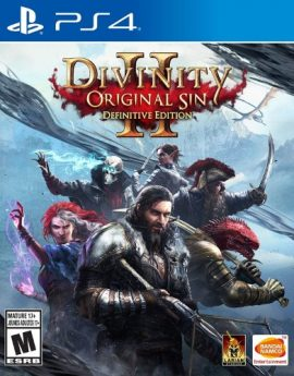 PS4 Divinity: Original Sin 2 – PlayStation 4 Definitive Edition