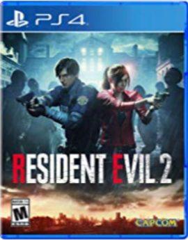 PS4 Game Resident Evil 2 Remake