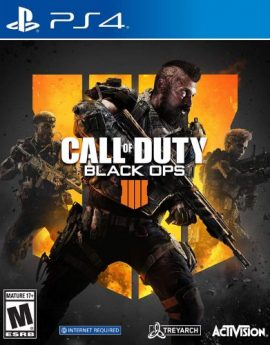 PS4 Game Call of Duty: Black Ops 4