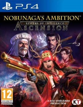 PS4 Game Nobunaga's Ambition Sphere of Influence Ascension (R2)