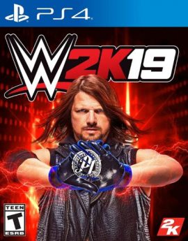 PS4 Game WWE 2K19 (R1)