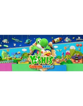 Nintendo Switch Game Yoshi's Crafted World