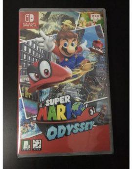 Nintendo Switch Game Super Mario Odyssey