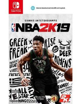 Nintendo Switch Game NBA 2K19