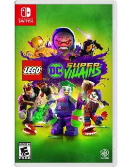 Nintendo Switch Game LEGO DC Super-Villains