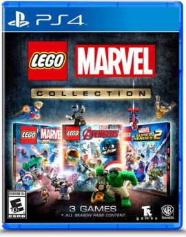 PS4 Game Lego Marvel Collection (R1)