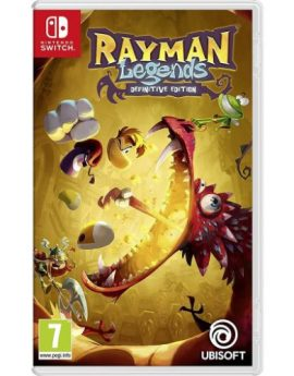 Nintendo Switch Game Rayman Legends Definitive Edition