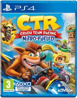 PS4 Game CTR Crash Team Racing Nitro-Fueled (R2)