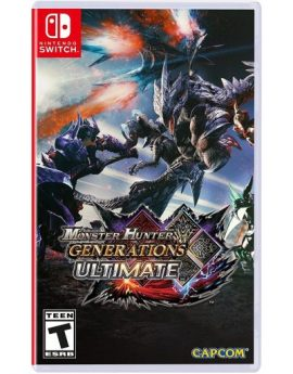 Nintendo Switch Game Monster Hunter Generations Ultimate