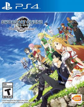 PS4 Game Sword Art Online: Hollow Realization (R1)