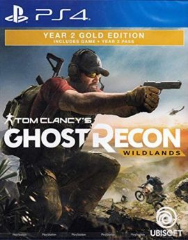 PS4 Game Tom Clancy's Ghost Recon Wildlands Year 2 Gold Edition (R2)