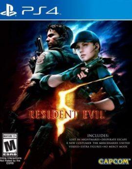 PS4 Game Resident Evil 5 (R1)