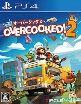 PS4 Game Overcooked! 2