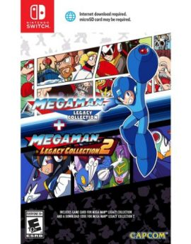 Nintendo Switch Game Mega Man Legacy Collection 1 + 2
