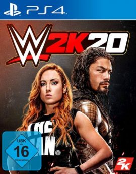 PS4 Game WWE 2K20 (R2)