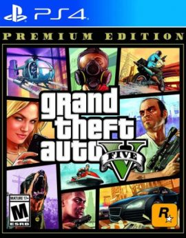 PS4 Game GTA V Premium Edition (Grand Theft Auto V)