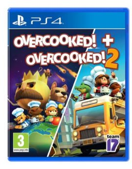 PS4 Game Overcooked! + Overcooked! 2 Twin Pack 2 Games in 1 (R2)