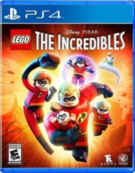 PS4 Game LEGO Disney Pixar's The Incredibles (R1)