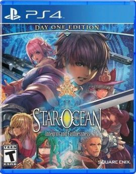 PS4 Game Star Ocean: Integrity and Faithlessness Day One Edition (R1)