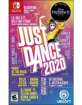 Nintendo Switch Game Just Dance 2020