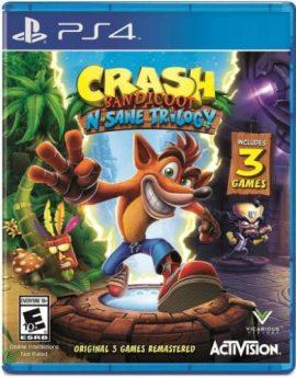 PS4 Game Crash Bandicoot N. Sane Trilogy (R1)