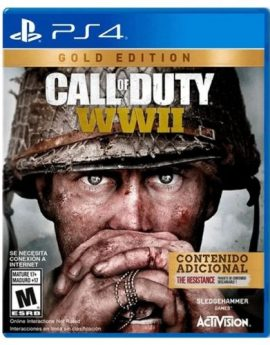 PS4 Game Call of Duty: WWII Gold Edition (R1)