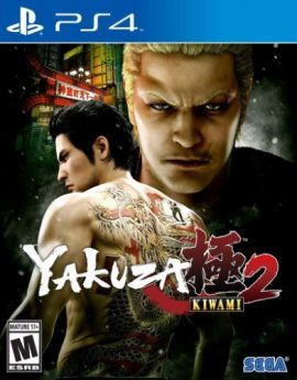 PS4 Game Yakuza Kiwami 2: Standard Edition (R1)