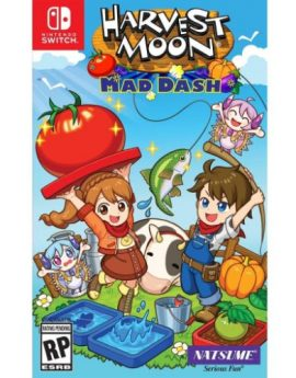 Nintendo Switch Game Harvest Moon: Mad Dash