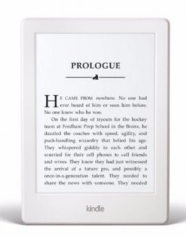 Amazon Kindle Paperwhite E-Reader 6″ High Resolution Display 300 PPI (White)