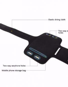 HAWEEL Universal Sport Armband Case with Earphone Hole & Key Pocket