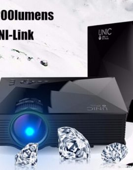 UNIC UC46 UNi-Link Wifi LED PROJECTOR (Black)