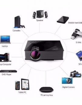 UNIC UC46 UNi-Link Wifi LED PROJECTOR (Black)