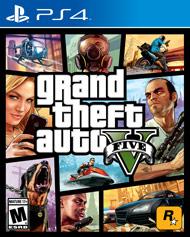 PS4 Game GTA V (Grand Theft Auto V)