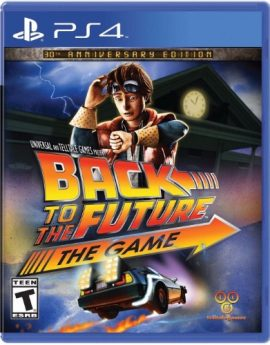 PS4 Game Back to the Future: The Game – 30th Anniversary Edition
