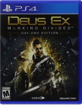 PS4 Game Deus Ex: Mankind Divided