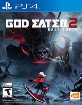 PS4 Game God Eater 2: Rage Burst