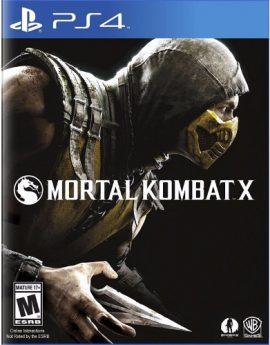 PS4 Game Mortal Kombat X