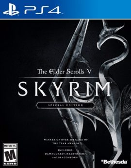 PS4 Game The Elder Scrolls V: SKYRIM