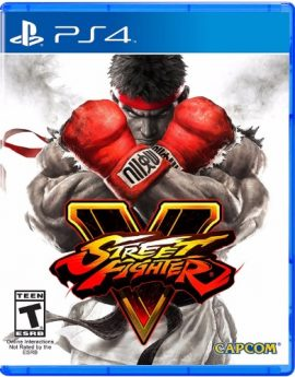 PS4 Game Street Fighter V