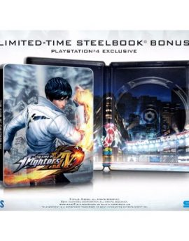 PS4 Game The King of Fighters XIV: SteelBook Launch Edition