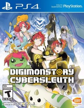 PS4 Game Digimon Story: Cyber Sleuth