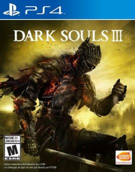 PS4 Game Dark Souls III