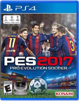 PS4 Game PRO EVOLUTION SOCCER 2017 (PES 2017)