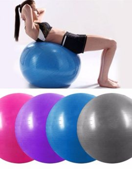 Yoga Ball Fitness Exercise Equipment 3 Sizes (55cm to 85cm)