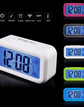LED Digital Alarm Clock With Backlight